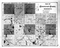 Cottonwood County Map, Cottonwood County 1896